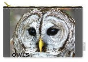Owls Mascot Carry-all Pouch