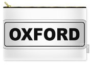 Oxford City Nameplate Carry-all Pouch