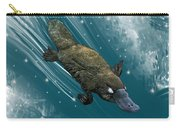 P Is For Platypus Carry-all Pouch