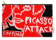 Pablo Picasso Attack 6 Carry-all Pouch