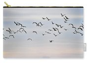 Pacific Ocean Sky With Sea Gull Carry-all Pouch