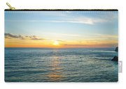 Pacific Ocean Sunset Carry-all Pouch