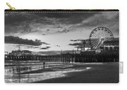 Pacific Park - Black And White Carry-all Pouch