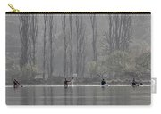 Paddling Under Poplars Carry-all Pouch