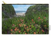 Paintbrush And Ice Plant, Garrapata Carry-all Pouch