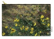 Painted Fall Flowers Carry-all Pouch