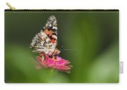 Painted Lady Butterfly At Rest Carry-all Pouch