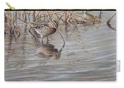 Pair Of Snipe By Alan M Hunt Carry-all Pouch