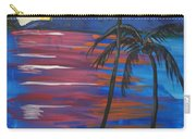 Palm Trees And Water Carry-all Pouch
