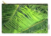 Palms In Light And Shadow Carry-all Pouch
