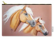 Palomino Pair Carry-all Pouch