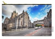 panorama of The Cathedral of Dublin Carry-all Pouch by Ariadna De Raadt