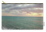 Panoramic View Of Aphrodite's Birthplace Or Petra Tou Romiou In Cyprus Carry-all Pouch