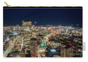Panoramic View Of The Boston Night Life Carry-all Pouch