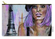 Paris Pink Carry-all Pouch