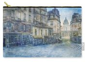 Paris, Rue Du Haut Pave 1866 Carry-all Pouch
