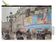 Paris, Rue Du Havre Circa 1882 Carry-all Pouch