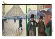 Paris Street In Rainy Weather - Digital Remastered Edition Carry-all Pouch