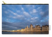 Parliament On The Danube Carry-all Pouch by Davor Zerjav