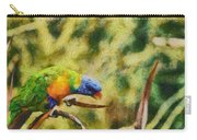 Parrot Paradise Carry-all Pouch