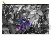Passion Flower Only Carry-all Pouch