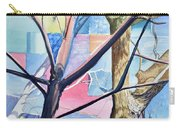Patchwork Trees Carry-all Pouch