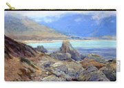 Path Along The Shore Carry-all Pouch