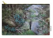 Path Thru The Woods Carry-all Pouch