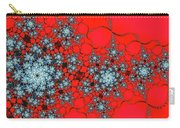 Pattern Synchro Red Carry-all Pouch by Don Northup