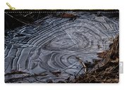 Patterns In Ice Carry-all Pouch