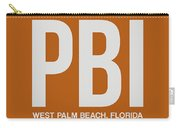 Pbi West Palm Beach Luggage Tag II Carry-all Pouch