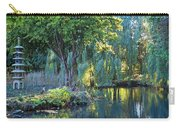 Peaceful Oasis - Japanese Garden Lake Carry-all Pouch