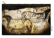 Pech Merle Horses And Hands Carry-all Pouch