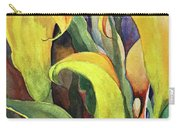 Peeking Lily Carry-all Pouch