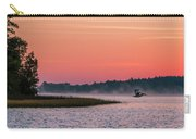 Pelican Mist Carry-all Pouch by Patti Deters