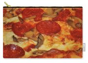 Pepperoni Pizza Mushrooms Carry-all Pouch