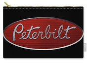 Peterbilt Emblem Black Carry-all Pouch