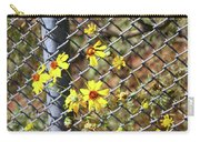 Phoenix Arizona Papago Park Blue Sky Red Rocks Scrub Vegetation Yellow Flowers 3182019 5327 Carry-all Pouch