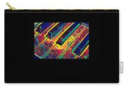 Piano Keys Musican Player Music Notes Gift Color Design Carry-all Pouch