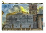 Piazza Di Santa Maria In Trastevere Carry-all Pouch