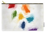 Piece Of The Rainbow- Art By Linda Woods Carry-all Pouch