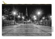 Pier 7 In Black And White Carry-all Pouch