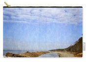 Pier Cove With Big Sky Carry-all Pouch by Michelle Calkins