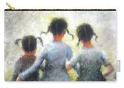 Pigtails Three Sisters Carry-all Pouch