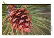 Pine Cone Carry-all Pouch by Patti Deters