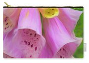 Pink Bells Carry-all Pouch