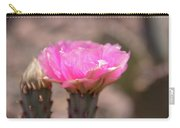 Pink Cactus Bloom Carry-all Pouch