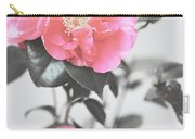 Pink Camellia. Shabby Chic Collection Carry-all Pouch