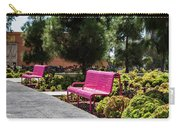 Pink Chairs At Grand Park Carry-all Pouch
