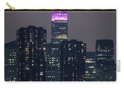 Pink Empire State Building Carry-all Pouch